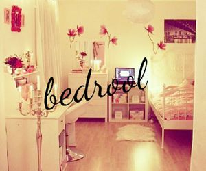 bedroom, girl, and white image
