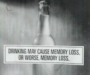 alcohol, drinking, and memories image