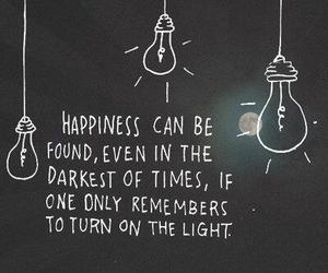 lights, quote, and text image