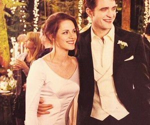 bella swan, edward cullen, and mariage image