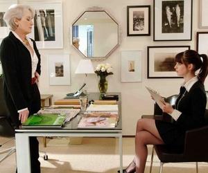devil wears prada, Anne Hathaway, and Prada image