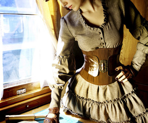 girl, steampunk, and cute image