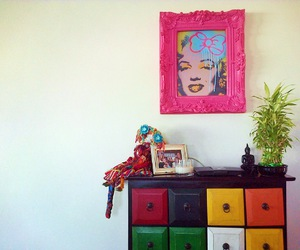 Marilyn Monroe, room, and pink image