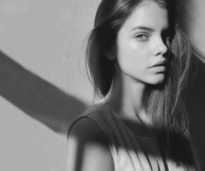 model, girl, and barbara palvin image