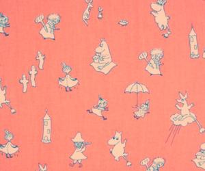 moomin, cute, and pink image