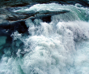 water, sea, and waves image