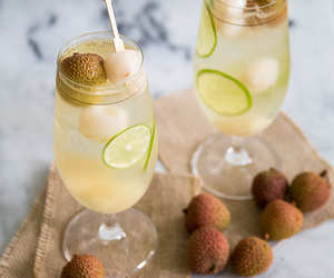 beverage, food, and lychee image