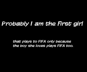 boy, fifa, and girl image