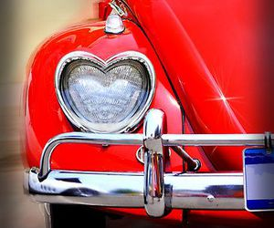 red, car, and heart image