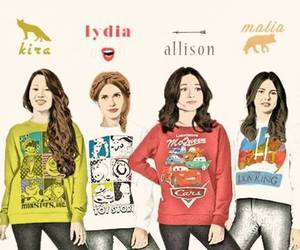 allison argent, teen wolf, and lydia martin image