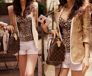 animal print, clothes, and louis image