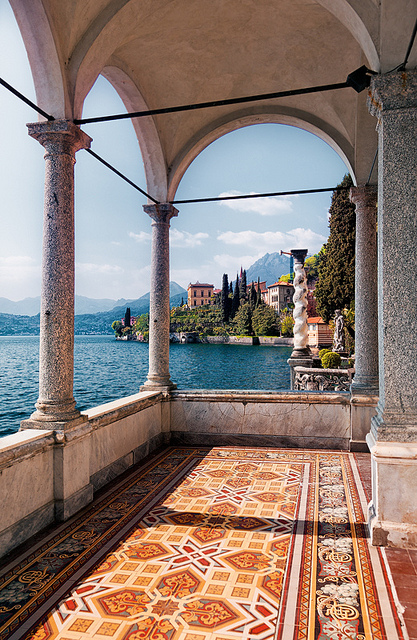 italy and lake image