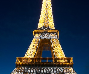 paris, romance, and the eiffel tower image