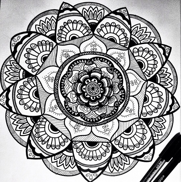 my new mandala uploaded by bruna almeida on we heart it