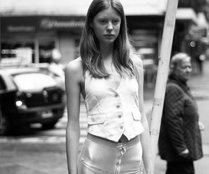 anorexia, street, and b&w image