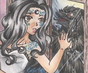 house of night and zoey redbird image