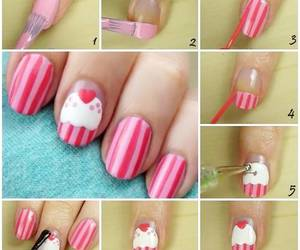 cupcakes, manicure, and decora image
