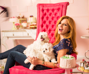 bella thorne, dog, and Teen Vogue image