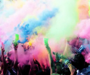 colors, party, and summer image