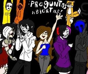 creepypasta, slendy, and jeff the killer image