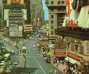 new york, city, and vintage image