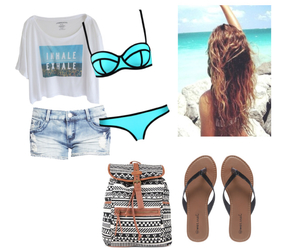 beach day, 2014, and fashion image