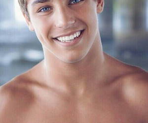 attractive, eyes, and guys image