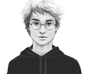 harry potter and green eyes image