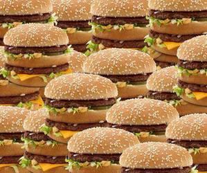 food and burger image