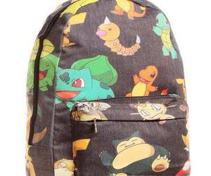 backpack, pokemon, and cute image