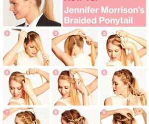 coiffure, diy, and girl image