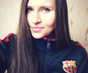 Barca, messi, and love image