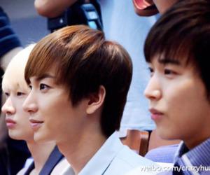 Leeteuk, sungmin, and super junior image