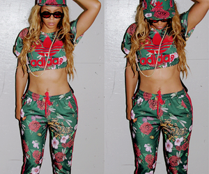 beyoncé, adidas, and queen bey image