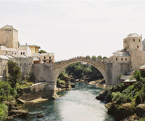 mostar, bosnia and herzegovina, and people image