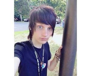 guy, warped tour, and youtuber image