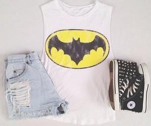 batman, fashion, and converse image