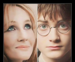 book, eyes, and harry potter image