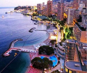 city, monte carlo, and monaco image