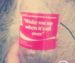 coca cola, wake me up, and avici image