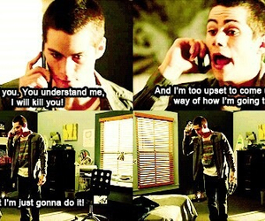 funny, stiles, and teen wolf funny moments image