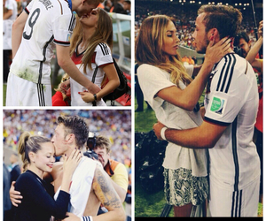 germany, football, and girlfriend image