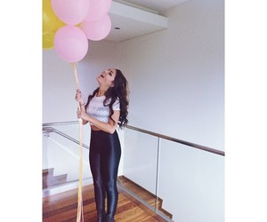 andrea russett, balloons, and pretty image