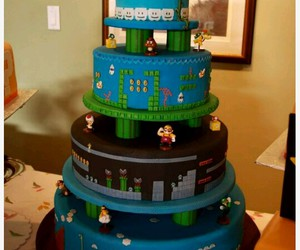 cake and mario image