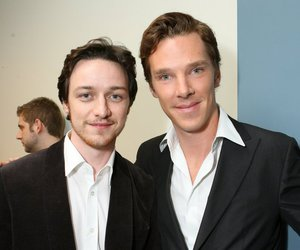 benedict cumberbatch and james mcavoy image