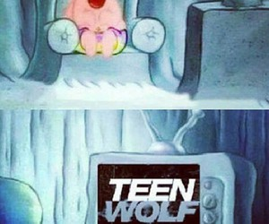 watching, teen wolf, and love image