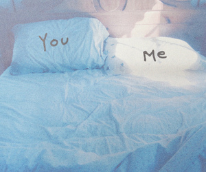 bed, love, and me image