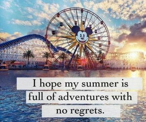 summer, adventure, and text image