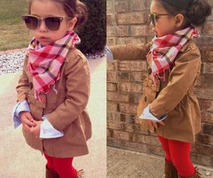 girl, stylish, and kids fashion image