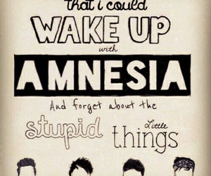 5 seconds of summer, amnesia, and 5sos image